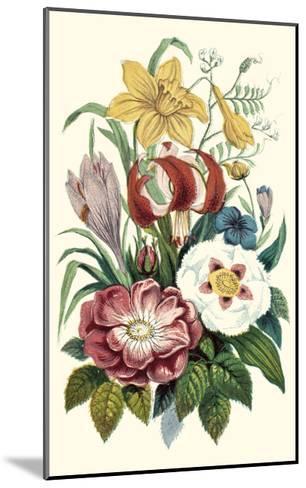 Garden Gathering VII--Mounted Art Print