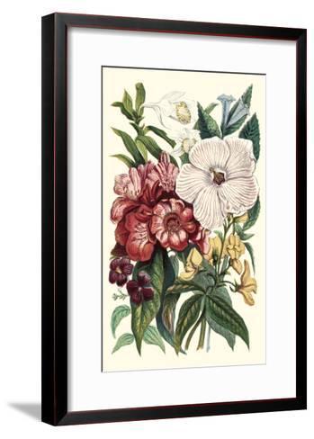 Garden Gathering IV--Framed Art Print