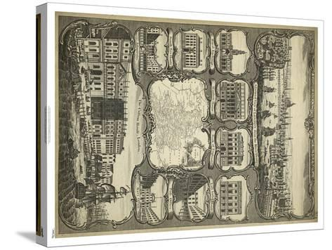 Various Views of London--Stretched Canvas Print
