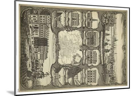 Various Views of London--Mounted Art Print