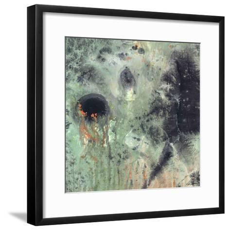 Coral & Jelly Fish II-Dlynn Roll-Framed Art Print
