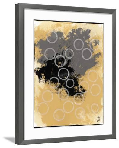 Disco Lemon Juice II-Natalie Avondet-Framed Art Print