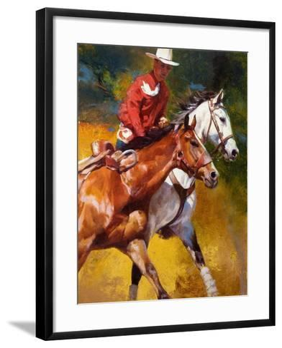 In Stride-Julie Chapman-Framed Art Print