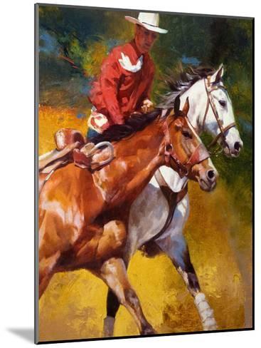 In Stride-Julie Chapman-Mounted Art Print
