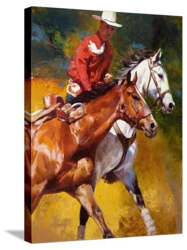In Stride-Julie Chapman-Stretched Canvas Print