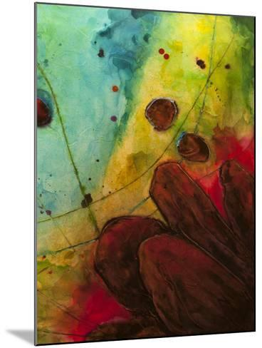 Abstract Series No. 13 II-Marabeth Quin-Mounted Art Print