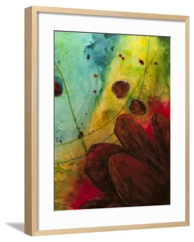 Abstract Series No. 13 II-Marabeth Quin-Framed Art Print