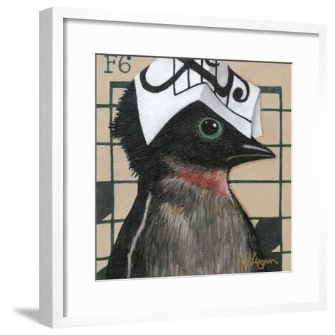 You Silly Bird - Will-Dlynn Roll-Framed Art Print