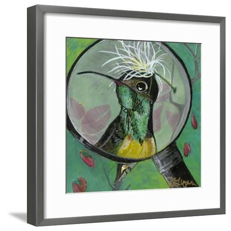 You Silly Bird - Clara-Dlynn Roll-Framed Art Print