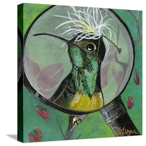 You Silly Bird - Clara-Dlynn Roll-Stretched Canvas Print