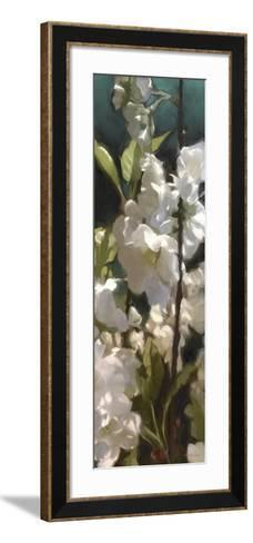 White Roses V-Rick Novak-Framed Art Print