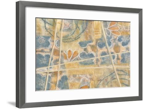 Layers of Pastel II-Karen Deans-Framed Art Print