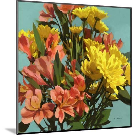 Vibrant Bouquet I-Rick Novak-Mounted Art Print