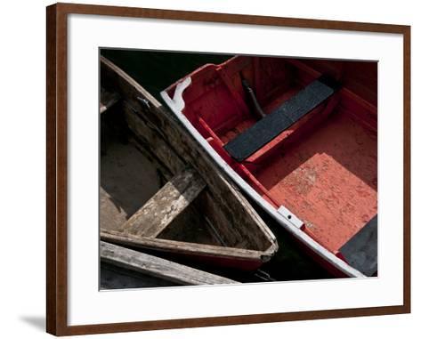 Wooden Rowboats IX-Rachel Perry-Framed Art Print