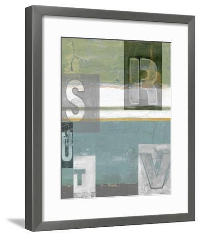 Letter Play II-Vision Studio-Framed Art Print