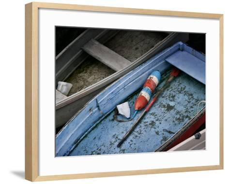 Wooden Rowboats XIII-Rachel Perry-Framed Art Print