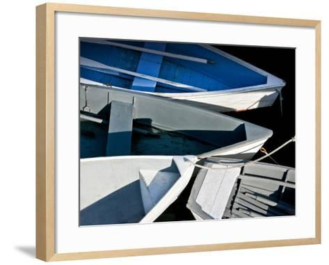 Wooden Rowboats XV-Rachel Perry-Framed Art Print