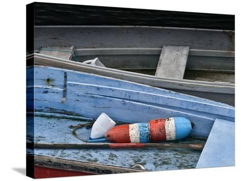 Wooden Rowboats XIV-Rachel Perry-Stretched Canvas Print