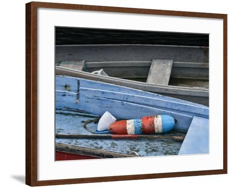 Wooden Rowboats XIV-Rachel Perry-Framed Art Print