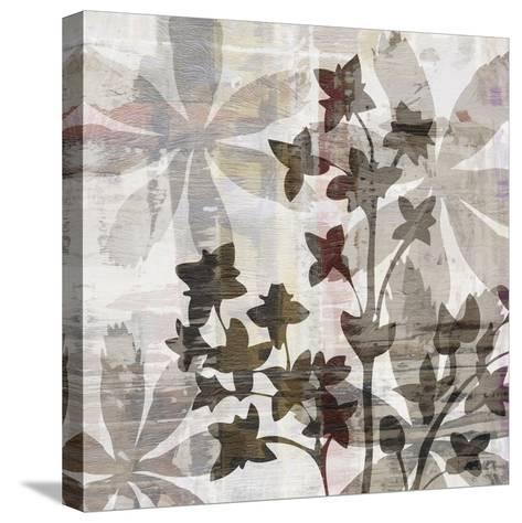 Wallflower III-James Burghardt-Stretched Canvas Print