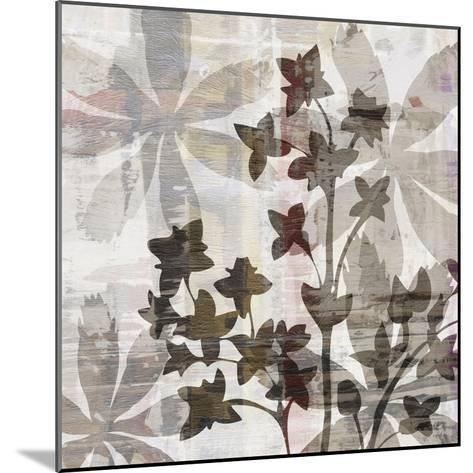 Wallflower III-James Burghardt-Mounted Art Print