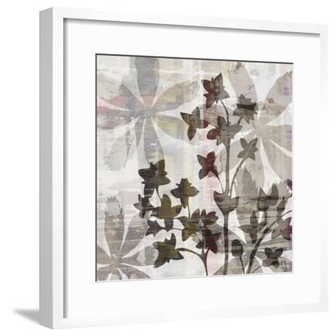 Wallflower III-James Burghardt-Framed Art Print