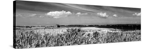 Shore Panorama III-Jeff Pica-Stretched Canvas Print