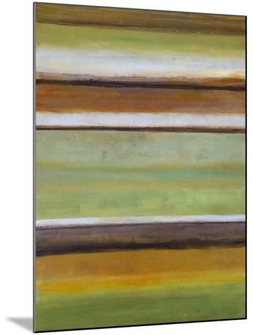 Peaceful Green III-Willie Green-Aldridge-Mounted Art Print
