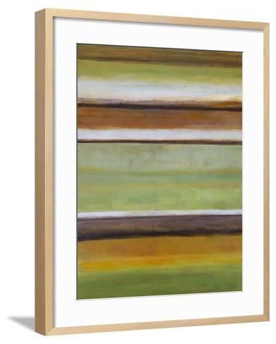 Peaceful Green III-Willie Green-Aldridge-Framed Art Print