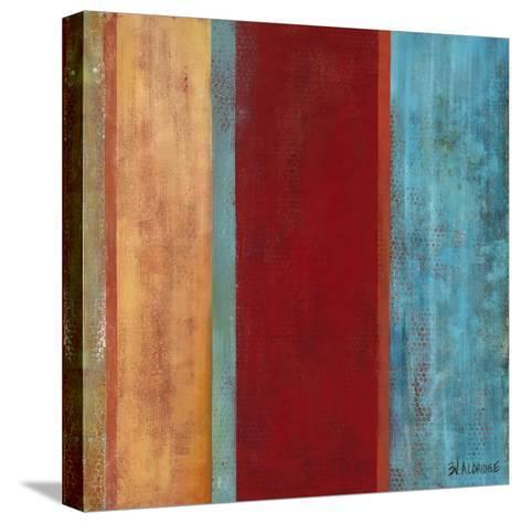 Blue Comes Thru II-Willie Green-Aldridge-Stretched Canvas Print