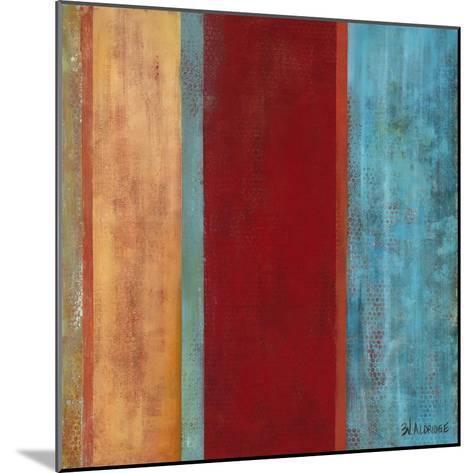 Blue Comes Thru II-Willie Green-Aldridge-Mounted Art Print
