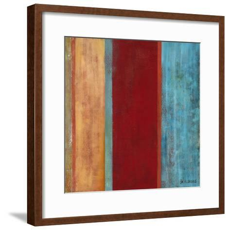 Blue Comes Thru II-Willie Green-Aldridge-Framed Art Print