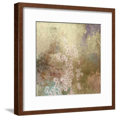 Cherry Blossom Abstract I-Rick Novak-Framed Art Print