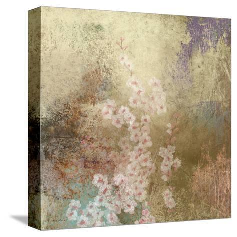 Cherry Blossom Abstract I-Rick Novak-Stretched Canvas Print