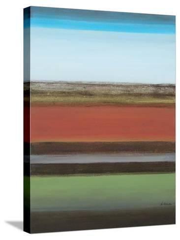 Peaceful Green II-Willie Green-Aldridge-Stretched Canvas Print