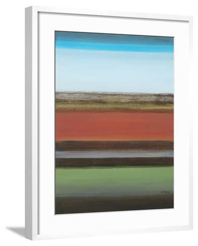 Peaceful Green II-Willie Green-Aldridge-Framed Art Print