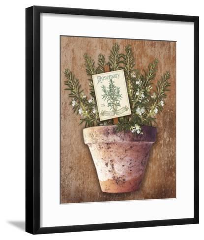 Potted Herbs II-Kate Ward Thacker-Framed Art Print