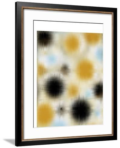 Pixilated Burst I-Ricki Mountain-Framed Art Print