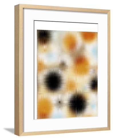 Pixilated Burst II-Ricki Mountain-Framed Art Print