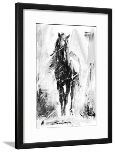Rustic Stallion II-Ethan Harper-Framed Art Print