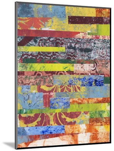 Monoprint Collage I-Regina Moore-Mounted Premium Giclee Print