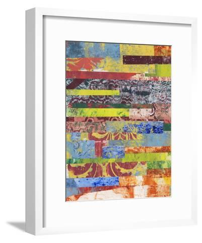 Monoprint Collage I-Regina Moore-Framed Art Print