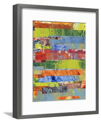 Monoprint Collage II-Regina Moore-Framed Art Print