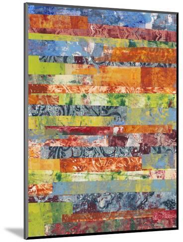 Monoprint Collage IV-Regina Moore-Mounted Premium Giclee Print