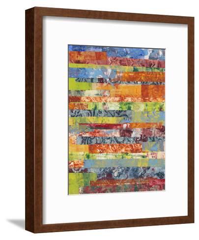 Monoprint Collage IV-Regina Moore-Framed Art Print