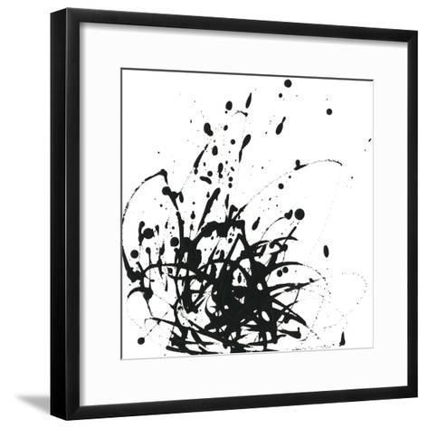 Onyx Expression I-June Vess-Framed Art Print