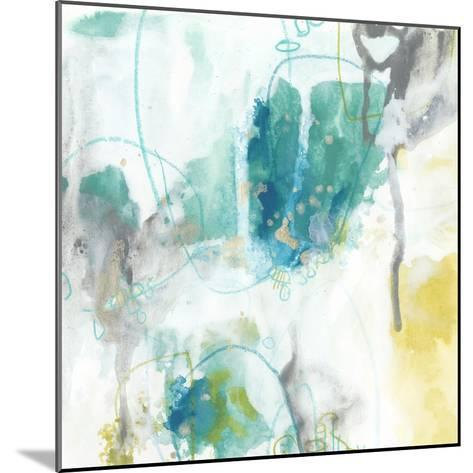 Aquatic Atmosphere II-June Vess-Mounted Premium Giclee Print