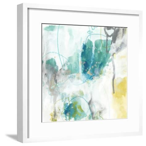 Aquatic Atmosphere II-June Vess-Framed Art Print