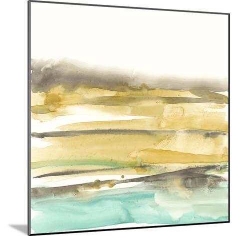 Mountains to Sea III-Jennifer Goldberger-Mounted Premium Giclee Print