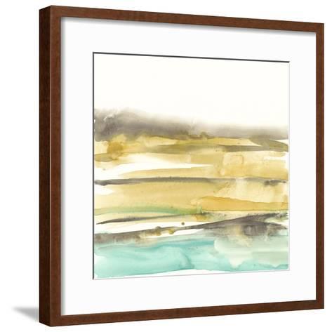 Mountains to Sea III-Jennifer Goldberger-Framed Art Print